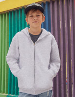 Fruit of the Loom Premium Kapuzensweatjacke Kinder