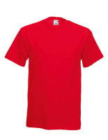 Fruit of the Loom Original T-Shirt Red XXL