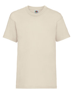 Fruit of the Loom Valueweight T-Shirt Kinder Natural 140