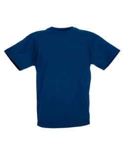 Fruit of the Loom Valueweight T-Shirt Kinder Navy 140