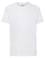 Fruit of the Loom Valueweight T-Shirt Kinder White 140