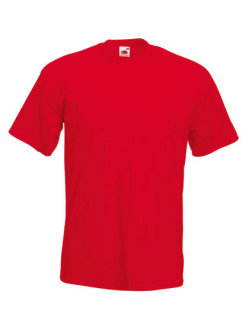 Fruit of the Loom Super Premium T-Shirt Red XL