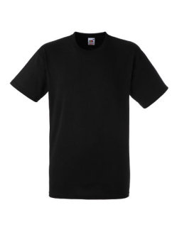 Fruit of the Loom Heavy Cotton T-Shirt Black XXL