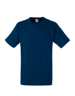 Fruit of the Loom Heavy Cotton T-Shirt Navy M