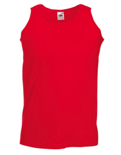 Fruit of the Loom Athletic Muskelshirt Red L