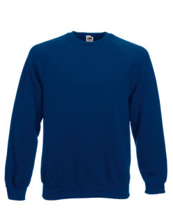 Fruit of the Loom Classic Raglan Sweat Navy XL