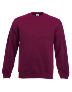 Fruit of the Loom Classic Set-in Sweat Burgundy S