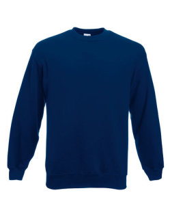 Fruit of the Loom Classic Set-in Sweat Navy M
