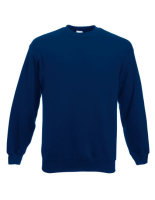 Fruit of the Loom Classic Set-in Sweat Navy XL