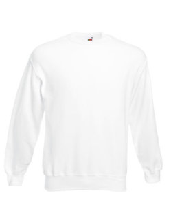 Fruit of the Loom Classic Set-in Sweat White L