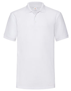Fruit of the Loom 65/35 Heavy Piqué Polo White L