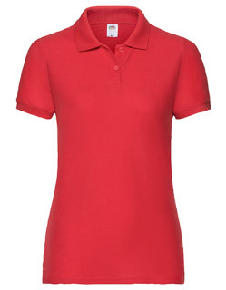 Fruit of the Loom 65/35 Polo Frauen Red S