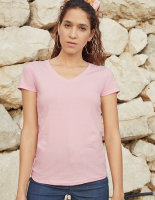 Fruit of the Loom Ladies Valueweight V Neck T