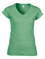 Gildan Softstyle® Frauen V-Neck T-Shirt