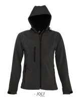 SOLS Frauen Hooded Softshell Jacke Replay