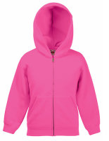 Fruit of the Loom Classic Hooded Sweat Jacket Kids
