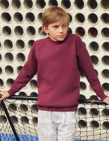 Fruit of the Loom Classic Raglan Sweat Kinder