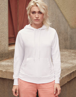 Fruit of the Loom leichter Kapuzensweat Frauen