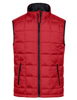James+Nicholson Männer Padded Light Weight Vest