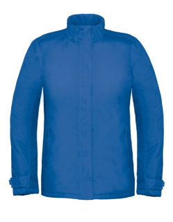 B&C Jacke Real+ Frauen Royal Blue S