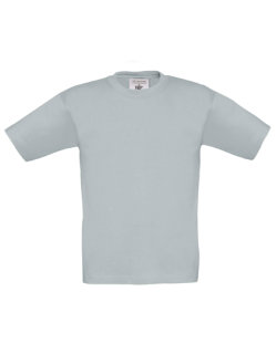 B&C T-Shirt Exact 190 Kinder Pacific Grey 3/4 (98/104)