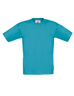 B&C T-Shirt Exact 190 Kinder Swimming Pool 3/4 (98/104)