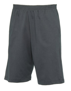 B&C Shorts Move Dark Grey (Solid) XXL