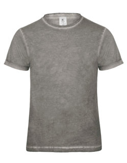 B&C T-Shirt Jeansoptik Plug In Männer Grey Clash S