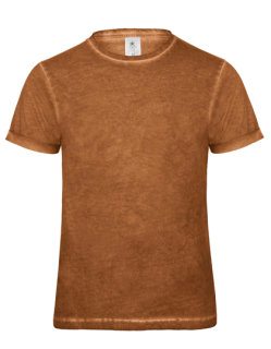 B&C T-Shirt Jeansoptik Plug In Männer Rusty Clash M