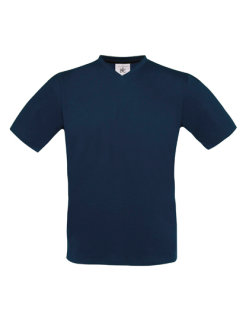 B&C T-Shirt Exact V-Neck Navy XL