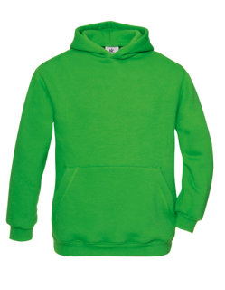 B&C Kapuzensweat Kinder Real Green 5/6 (110/116)
