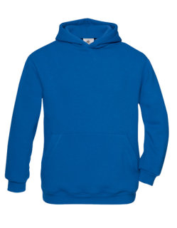 B&C Kapuzensweat Kinder Royal Blue 12/14 (152/164)
