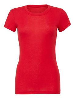 Bella Women`s The Favorite T-Shirt Red L