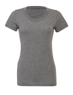 Bella Triblend Crew Neck Frauen T-Shirt Grey Triblend (Heather) XL