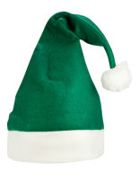 NoName Christmas Hat / Nikolaus Mütze Green/White One Size