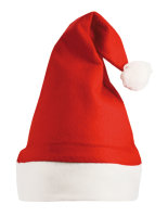 NoName Christmas Hat / Nikolaus Mütze Red/White One Size