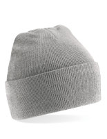 Beechfield Original Cuffed Beanie Heather Grey One Size