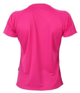 CONA SPORTS Rainbow Frauen Tech T-Shirt XL Magenta