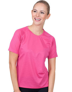 CONA SPORTS Rainbow Frauen Tech T-Shirt M Neonyellow