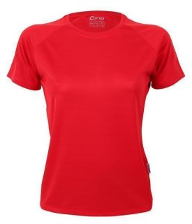 CONA SPORTS Rainbow Frauen Tech T-Shirt XL Red