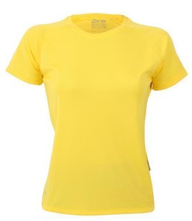 CONA SPORTS Rainbow Frauen Tech T-Shirt M Sunyellow