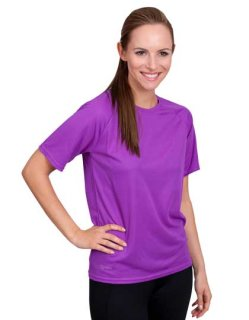 CONA SPORTS Rainbow Frauen Tech T-Shirt L Violet