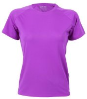 CONA SPORTS Rainbow Frauen Tech T-Shirt XL Violet
