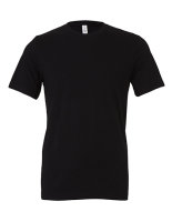 Canvas Unisex Jersey Crew Neck T-Shirt Black M