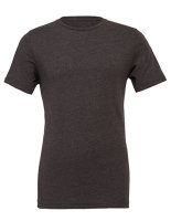 Canvas Unisex Jersey Crew Neck T-Shirt Dark Grey Heather XL