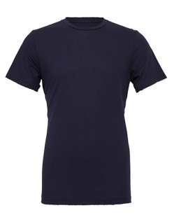Canvas Unisex Jersey Crew Neck T-Shirt Navy XL
