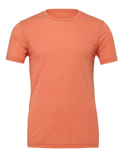 Canvas Unisex Jersey Crew Neck T-Shirt Orange XL