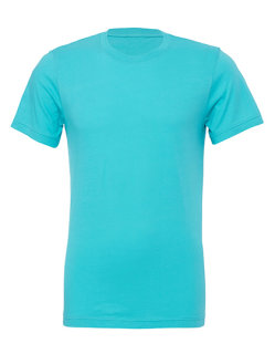 Canvas Unisex Jersey Crew Neck T-Shirt Teal XS