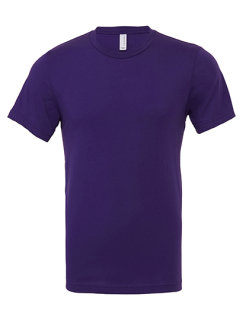 Canvas Unisex Jersey Crew Neck T-Shirt Team Purple M