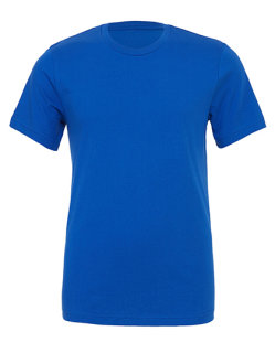 Canvas Unisex Jersey Crew Neck T-Shirt True Royal L